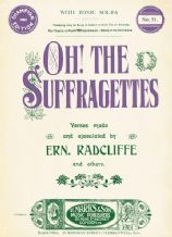 Oh! The Suffragettes -  A3 Metal Wall Sign